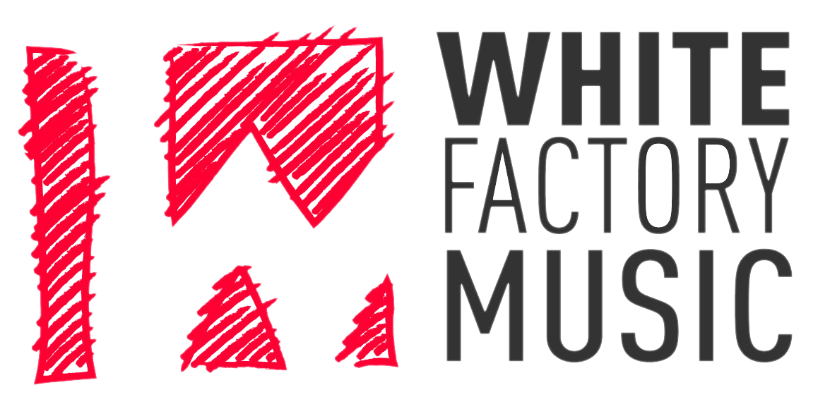 White Factory Music Logo